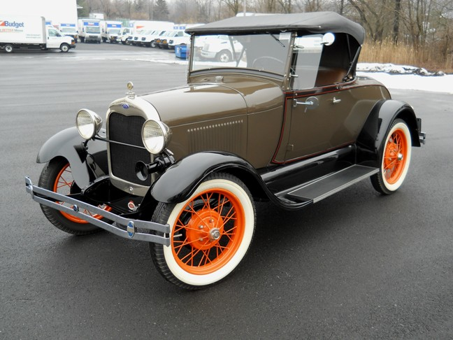 1929 Ford Model A Rumbleseat Roadster