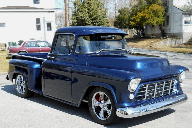 1955 Chevrolet Pickup Modified